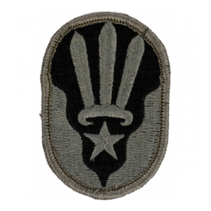 123rd Regional Readiness Command (ARCOM) Patch Foliage Green (Velcro Backed