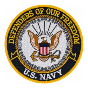 US Navy Defenders Of Our Freedom Patch