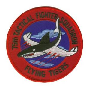 75th Tactical Fighter Squadron Flying Tigers Patch