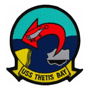 USS Thetis Bay LPH-6 Ship Patch