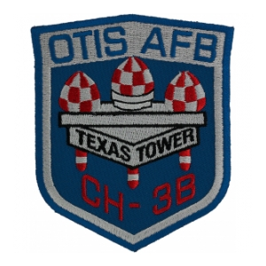 4604 Support Squadron Patch (Texas Towers 2 OTIS AFB CH-38)