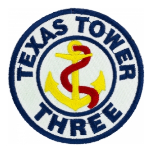 4604 Support Squadron Texas Patch (Texas Tower 3)