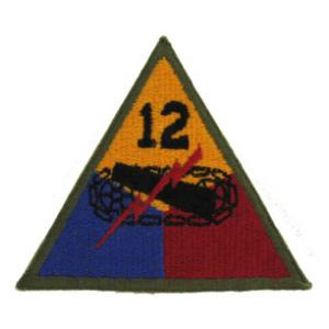 12th Armor Patch