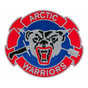 207th Airborne Infantry Group Arctic Warriors Patch
