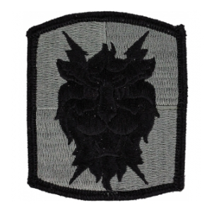35th Signal Brigade Patch Foliage Green (Velcro Backed)