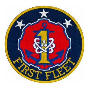 Navy First Fleet Patch
