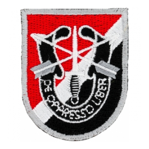 6th Special Forces Group Flash w/ Insignia