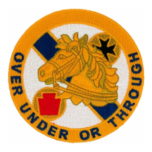 104th Cavalry Regiment Patch