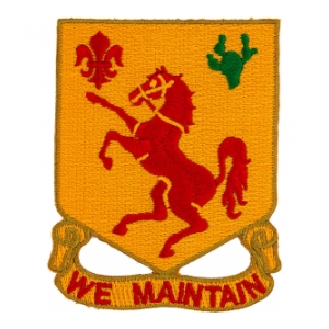113th Cavalry Regiment Patch