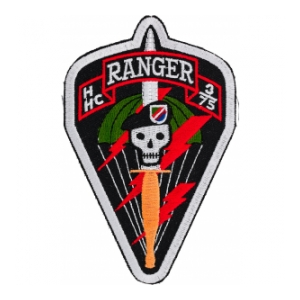 H Company 3/75 Ranger Patch