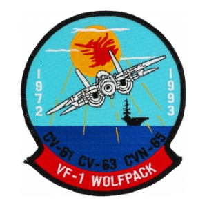 Navy Fighter Squadron Patch VF-1 Patch