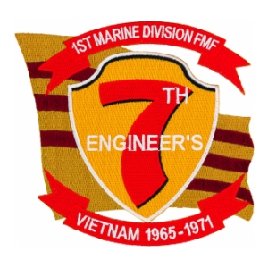 7th Marine Division Patch