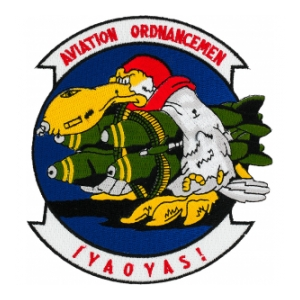 Navy Aviation Ordnancemen Patch