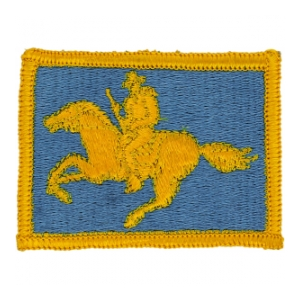 Wyoming National Guard Headquarters Patch