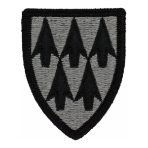 32nd Air Defense Artillery Patch Foliage Green (Velcro Backed)