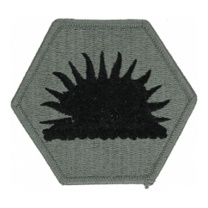 California National Guard Headquarters Patch Foliage Green (Velcro Backed)