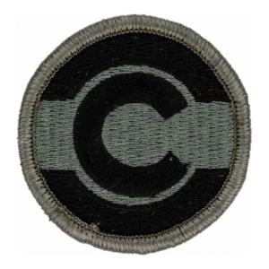 Colorado National Guard Headquarters Patch Foliage Green (Velcro Backed)