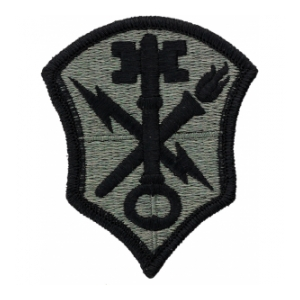 Intell Security Command (INSCOM) Patch Foliage Green (Velcro Backed)