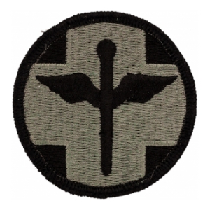 818th Hospital Center Patch Foliage Green (Velcro Backed)