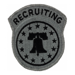 Recruiting Command Patch Foliage Green (Velcro Backed)