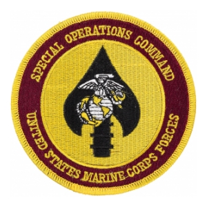 Special Operations Command United States Marine Corps Forces
