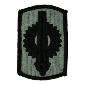 130th Field Artillery Brigade Patch Foliage Green (Velcro Backed)