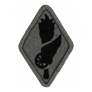 Transportation School Patch Foliage Green (Velcro Backed)