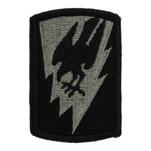 66th Aviation Brigade Patch Foliage Green (Velcro Backed)