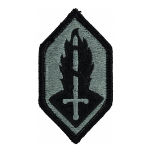 Military Research and Development Patch Foliage Green (Velcro Backed)