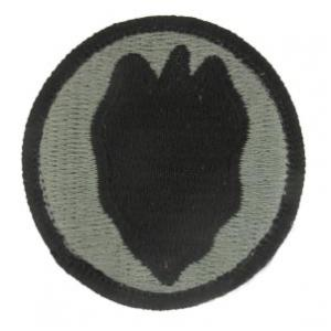 24th Infantry Division Patch Foliage Green (Velcro Backed)