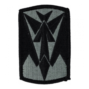35th Air Defense Artillery Patch Foliage Green (Velcro Backed)