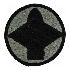 142nd Field Artillery Brigade Patch Foliage Green (Velcro Backed)