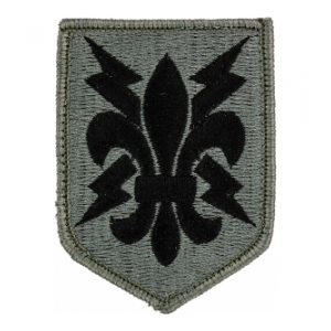 205th Military Intelligence Brigade Patch Foliage Green (Velcro Backed)