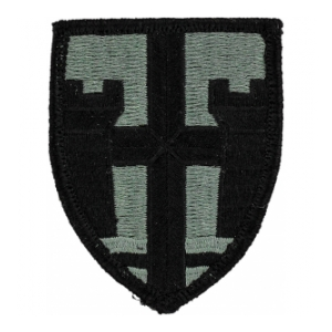 Puerto Rico National Guard Headquarters Patch Foliage Green (Velcro Backed)