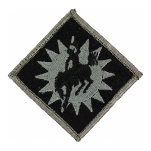 115th Field Artillery Brigade Patch Foliage Green (Velcro Backed)