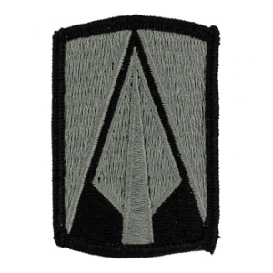 177th Armored Brigade Patch Foliage Green (Velcro Backed)