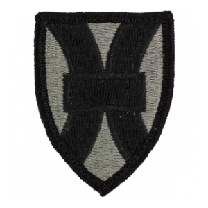 21st Support Command Patch Foliage Green (Velcro Backed)