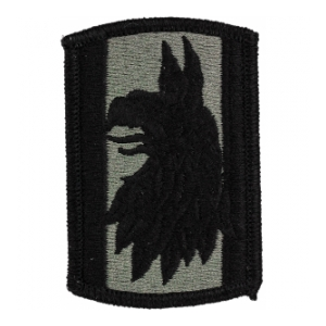 470th Military Intelligence Brigade Patch Foliage Green (Velcro Backed)