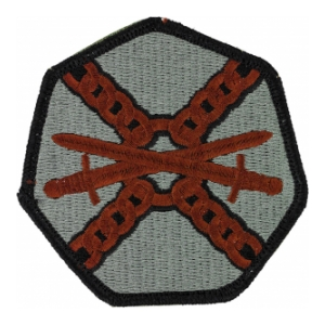 Installation Management Patch Foliage Green (Velcro Backed)