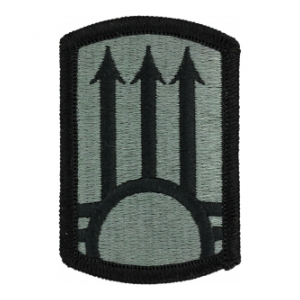 111th Air Defense Artillery Patch Foliage Green (Velcro Backed)