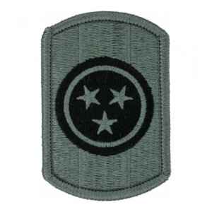 30th Armored Brigade Patch Foliage Green (Velcro Backed)