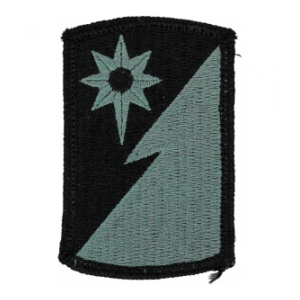 319th Military Intelligence Brigade Patch Foliage Green (Velcro Backed)