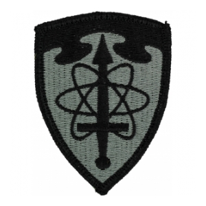 Intell Agency Patch Foliage Green (Velcro Backed)