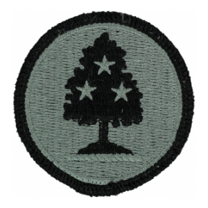 Tennessee National Guard Headquarters Patch Foliage Green (Velcro Backed)