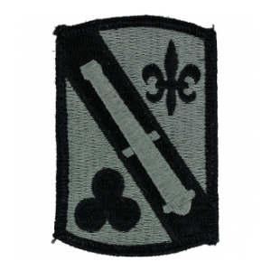 42nd Field Artillery Brigade Patch Foliage Green (Velcro Backed)