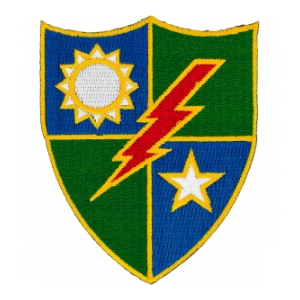 75th Infantry Regiment Patch
