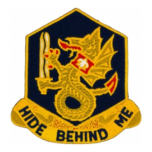 92nd Chemical Battalion Patch