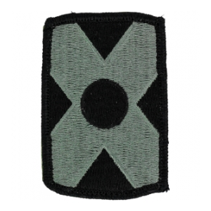 479th Field Artillery Brigade Patch Foliage Green (Velcro Backed)