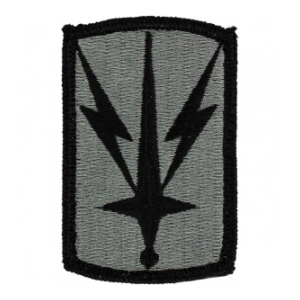 1107st Signal Brigade Patch Foliage Green (Velcro Backed)