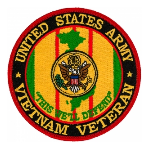 United States Army Vietnam Veteran Patch